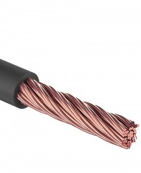 "Кабель силовой ""Power Cable"" 1х10 мм2, черный, d=7,5мм, REXANT"