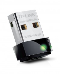Беспроводной USB-адаптер TP-Link TL-WN725N 802.11n, Wireless N 150M, Nano Size