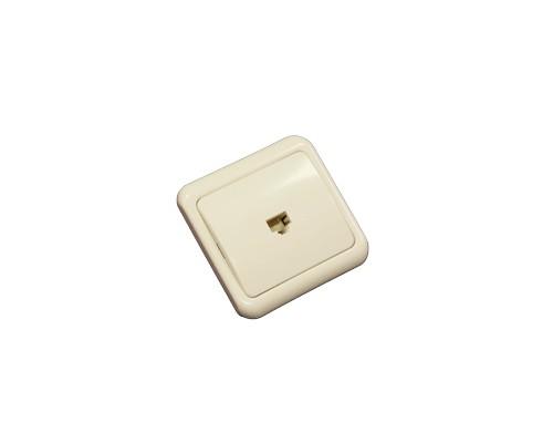 2c74c52f0bcc Телефонная розетка внутренняя 1x6P-4C (1 порт) (Rexant)